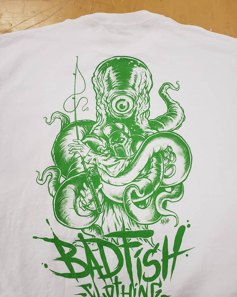 "Badfish Clothing ""Cycloptopus"" Shirt"