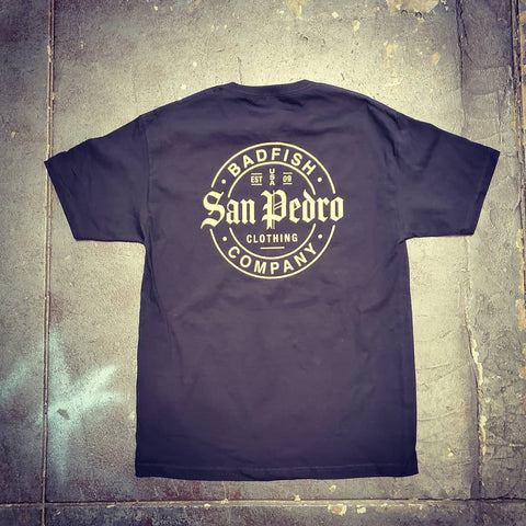 Badfish Clothing x San Pedro Clothing Co Goldie Tee