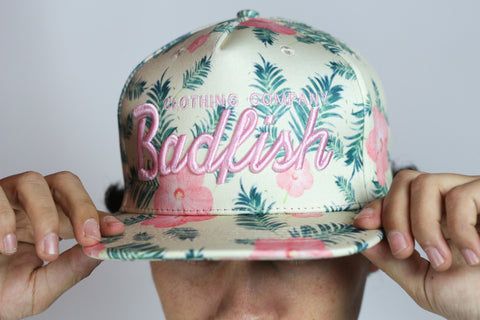 Badfish Floral Hat