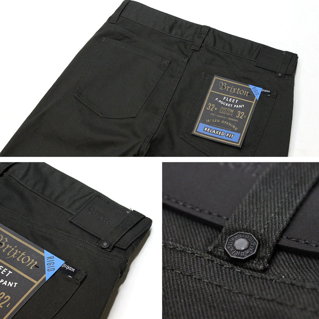 Brixton Fleet Rigid Relaxed Fit Chino Pant