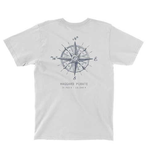 Haggard Pirate Compass Pocket Shirt