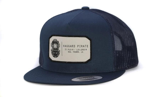 Haggard Pirate Divers Code Trucker