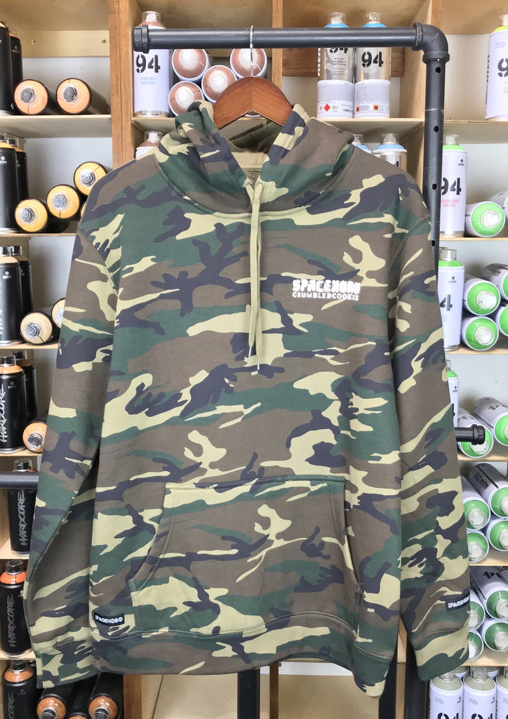 SPACEHOBO Crumbled Cookie Camo Hoodie