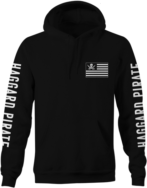 Haggard Pirate American Pirates Hoodie
