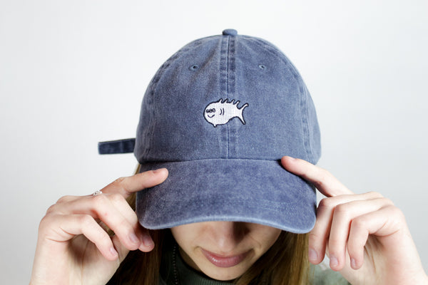 3 Eyed Fish Dad Hat