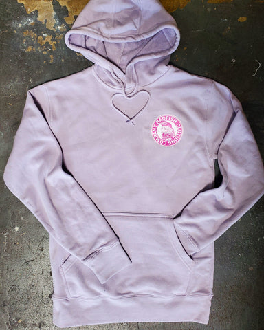 Badfish Badge V-Day Lavender Hoodie