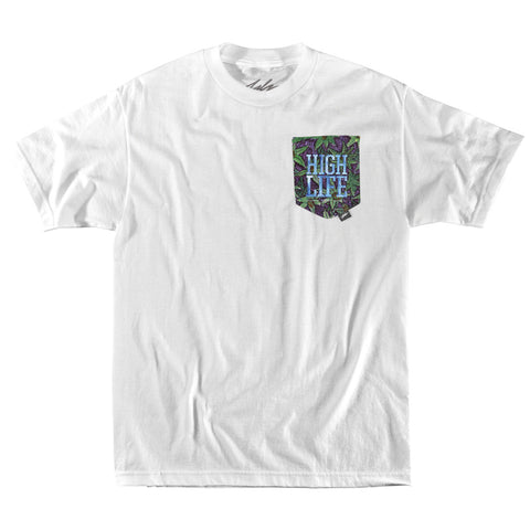 High Life x Jay Crest Pocket Tee