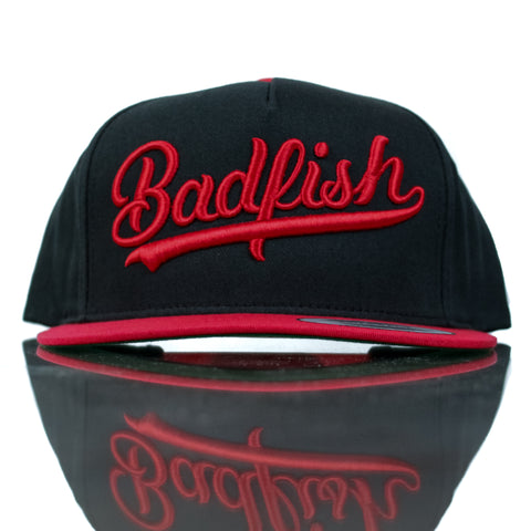 Badfish Whale Tail Script Hat