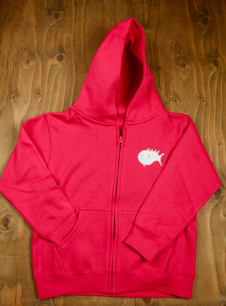 3 Eyed Fish- Kid's Zip-up Hoodie