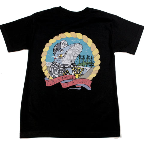 Whale of a Town Tee