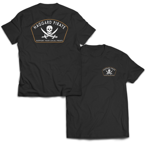 Haggard Pirate Jolly Roger Shirt