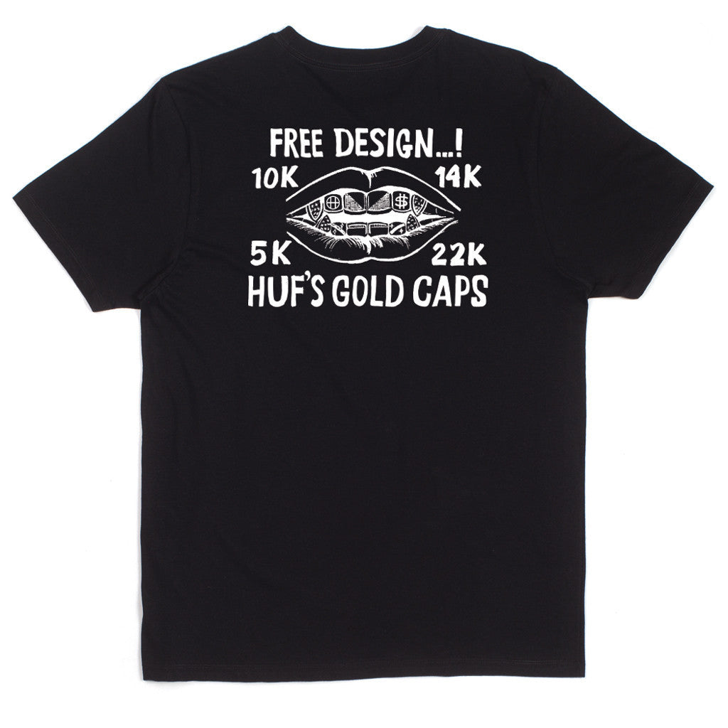 HUF Gold Caps T-Shirt