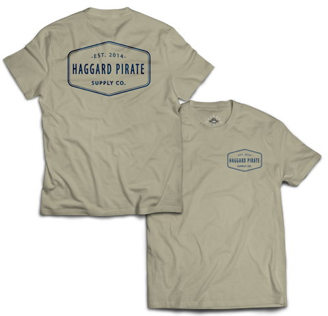 Haggard Pirate Supply Co. Tee