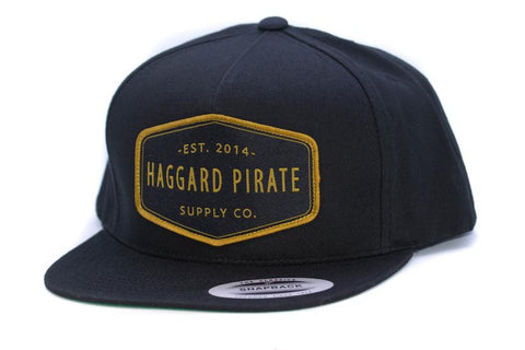 Haggard Pirate Supply Co Snapback
