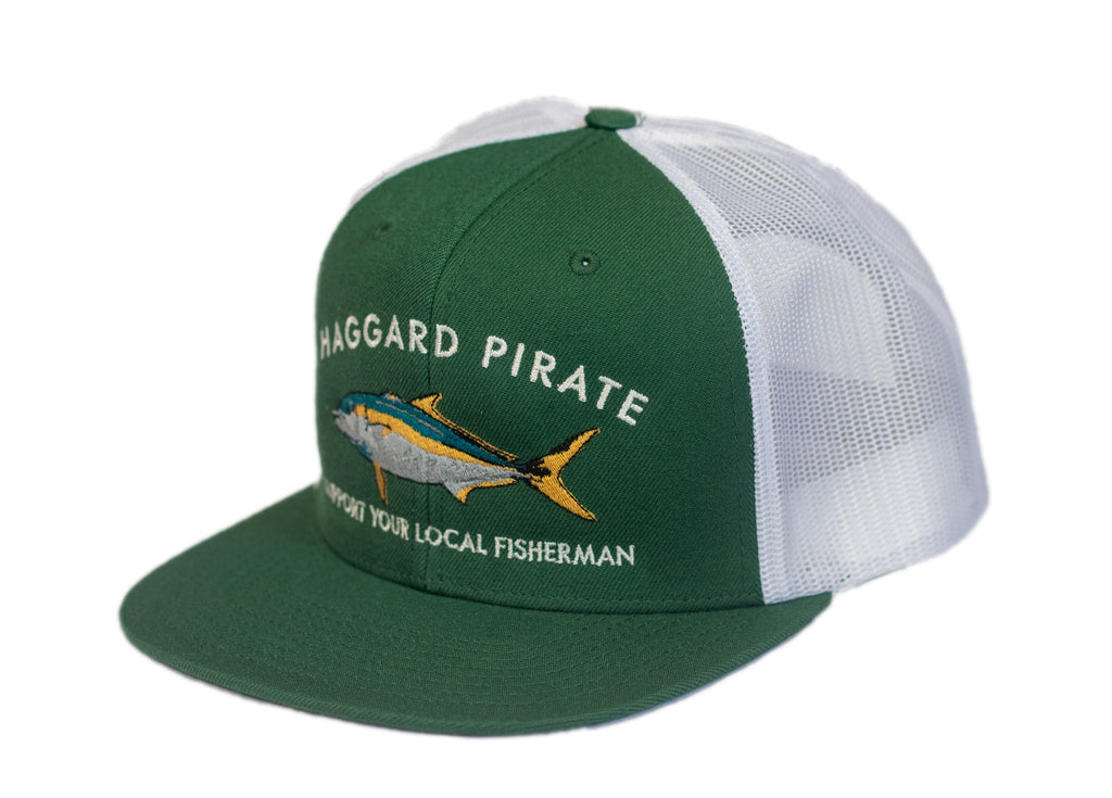 Haggard Pirate Support Fisherman Trucker Hat