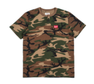 Brixton x Coors Banquent S/S Henley Camo