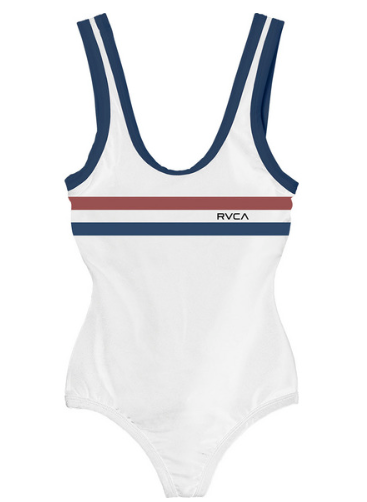 RVCA First Base One Piece WHITE
