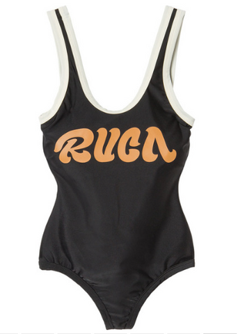 RVCA First Base One Piece BLACK