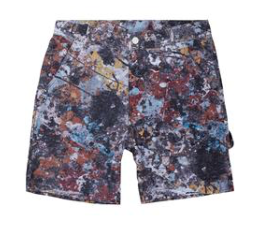 The Hundreds x Jackson Pollock Shorts