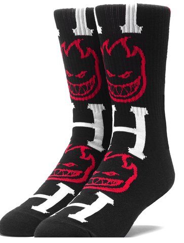 HUF x Spitfire Big Head H Socks
