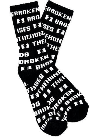 The Hundreds Broken Promises Socks