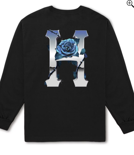 HUF Ice Rose Classic H L/S T-Shirt