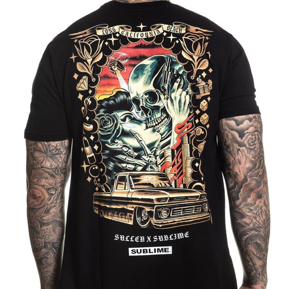 Sullen x Sublime Saw Red Shirt