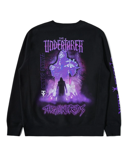The Hundreds x WWE Undertaker Crewneck Sweater
