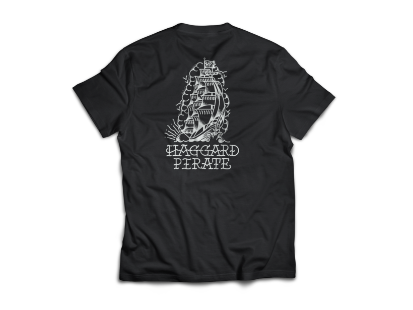 Haggard Pirate Tall Ships Shirt