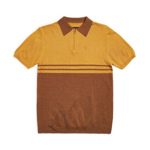 Brixton Allen 1/4 Zip Polo Knit