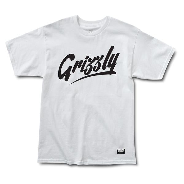 "Grizzly ""Freehand"" Tee"