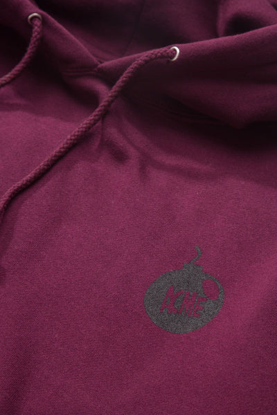 The Hundreds x ACME - Runner Pullover Burgundy