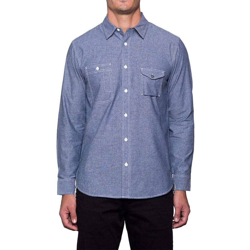 HUF Cigarette Pocket Chambray Tee