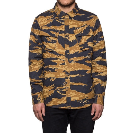 HUF BDU Military Shirt