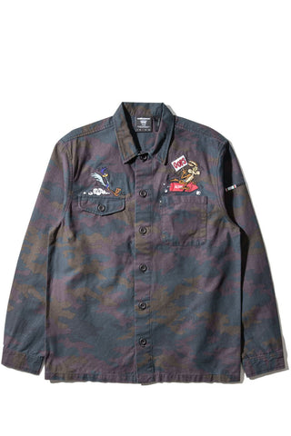 The Hundreds x ACME - Drab L/S Woven