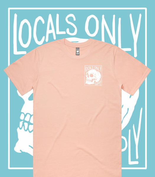 Locals Only Supply Premium Coral Tee
