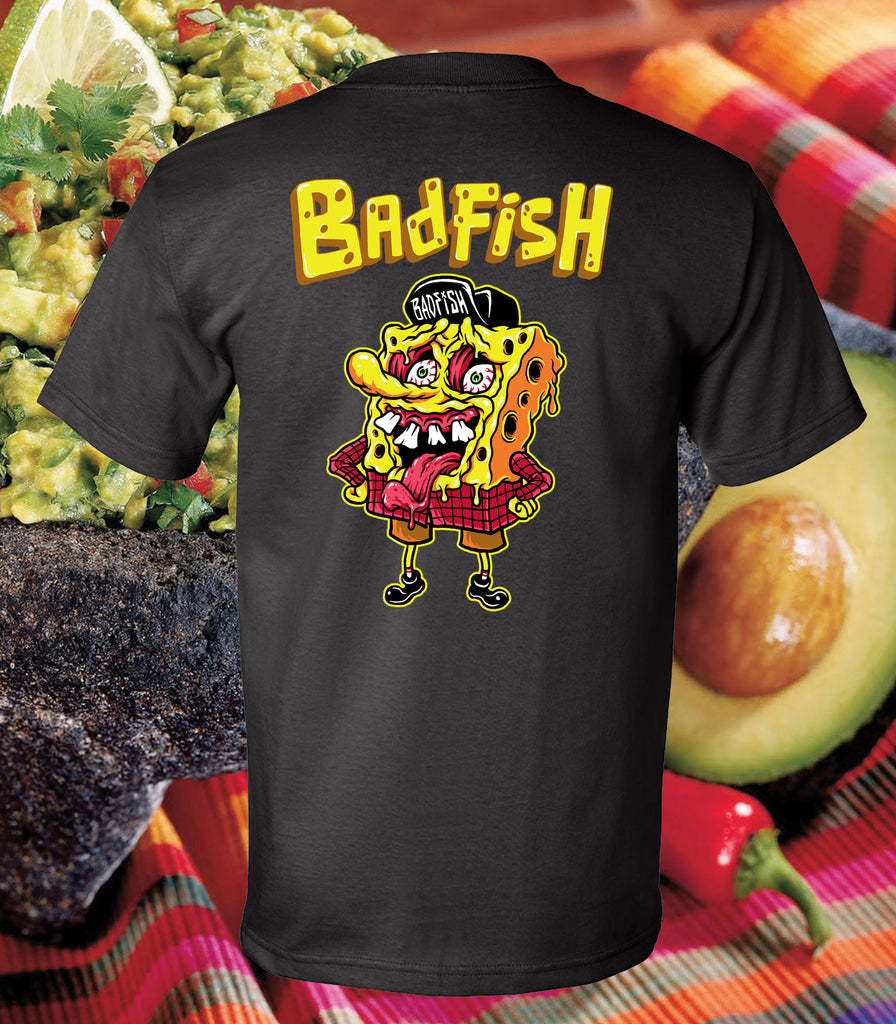 Nacho Bobfish - Black Tee