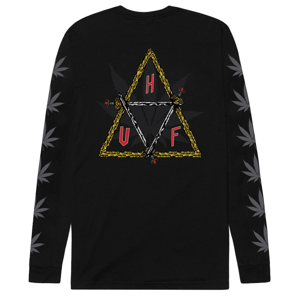 HUF x Ty Dolla $ign Swords Triple Triangle L/S