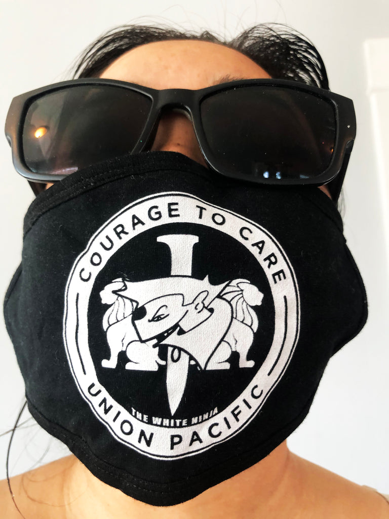 2 Ninjas Courage to Care Mask