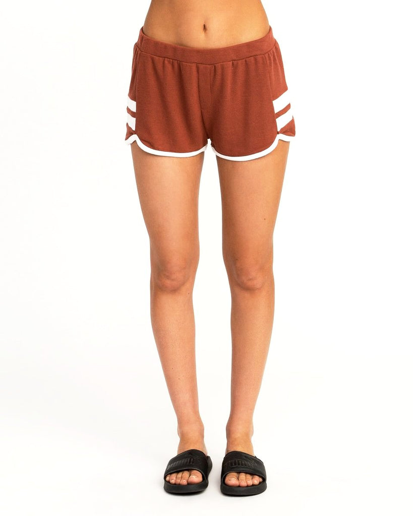 RVCA Julep Woman's Fleece Soft Shorts