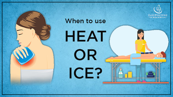 When to Use Ice or Heat