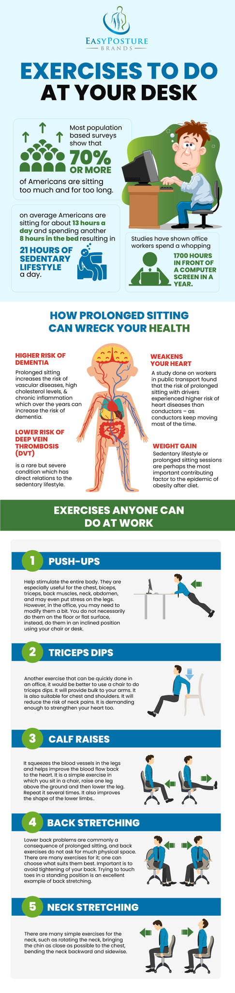 exercises to do at your desk for sitting back pain
