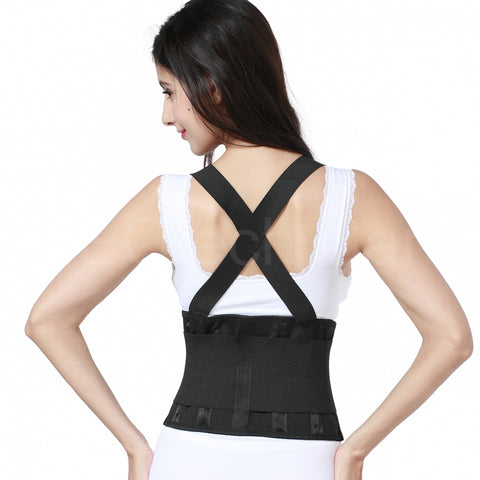Lumbar Support Belt with Suspenders for Women