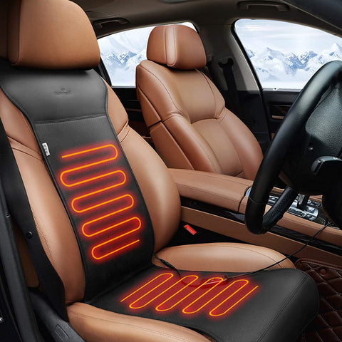 heating seat pad cover
