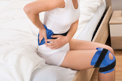 knee ice pack back ice pack