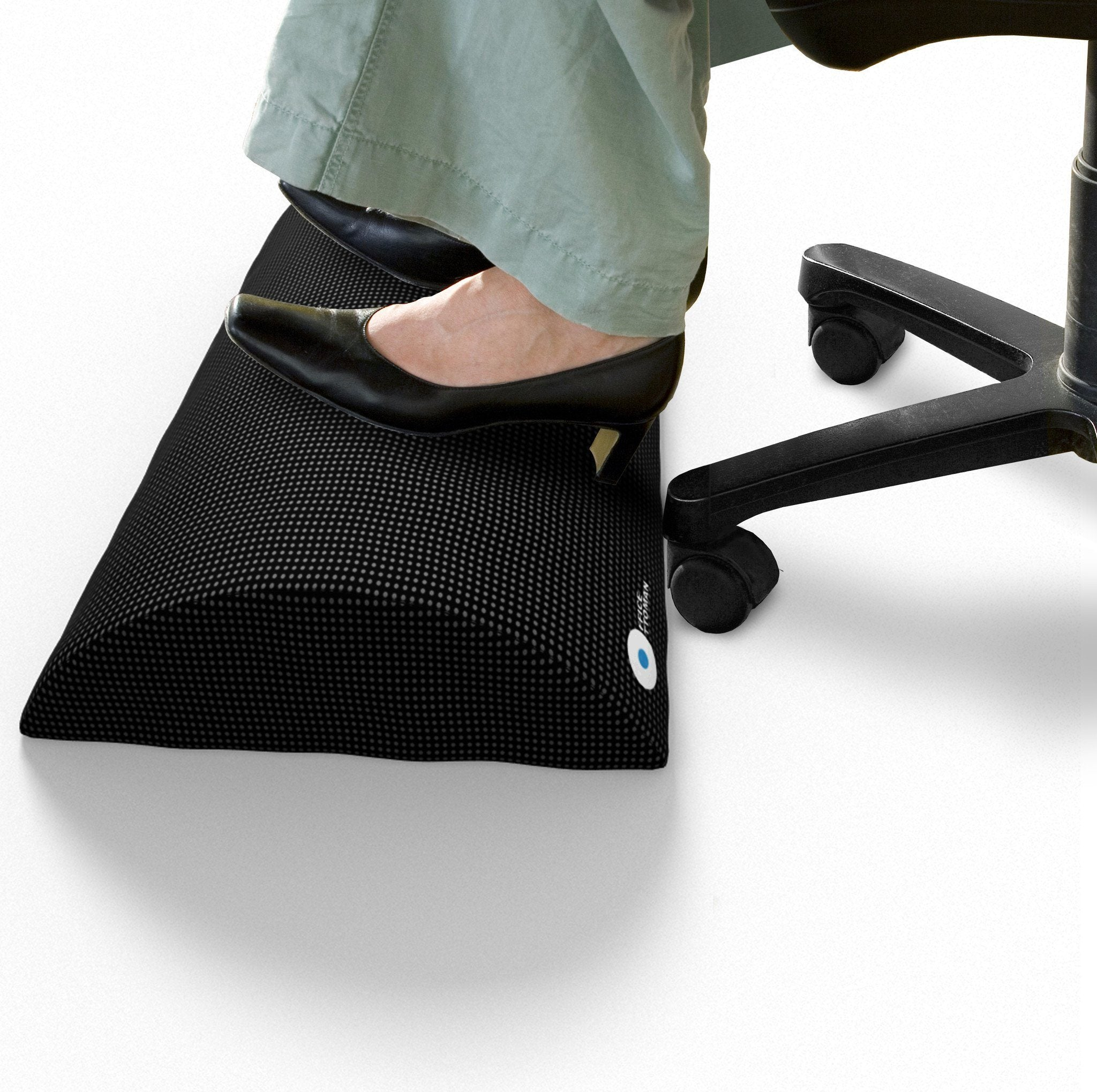 foot rest under desk non slip foam cushion easy posture brands