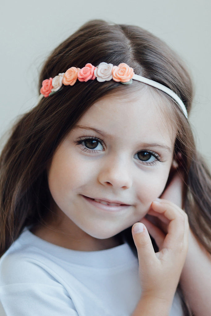 6 Flower Headband - Crown