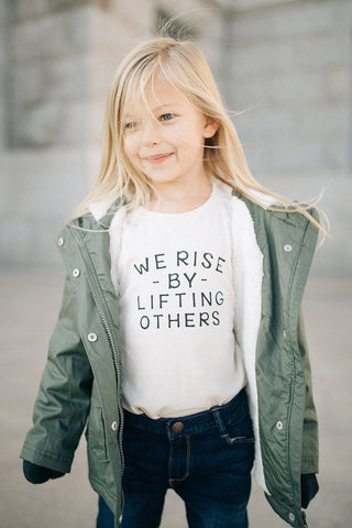 We Rise By Lifting Others - Short Sleeve
