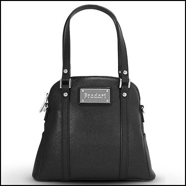 PRODORI Black Luxury Leather Handbag - Cross Body