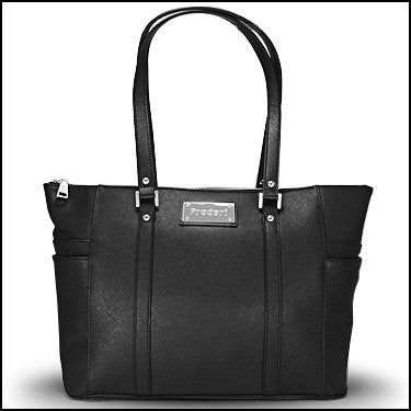 PRODORI Black Luxury Leather Handbag - Classic Tote